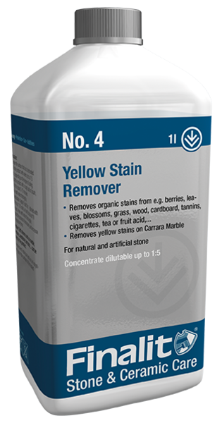 Finalit No  4 Yellow Stain Remover ‐ Finalit Stein- u